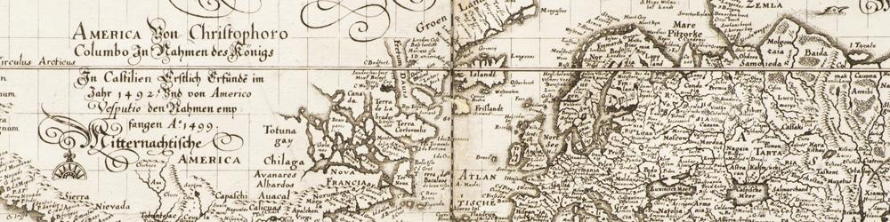 Äldre grafik, kartor och böcker