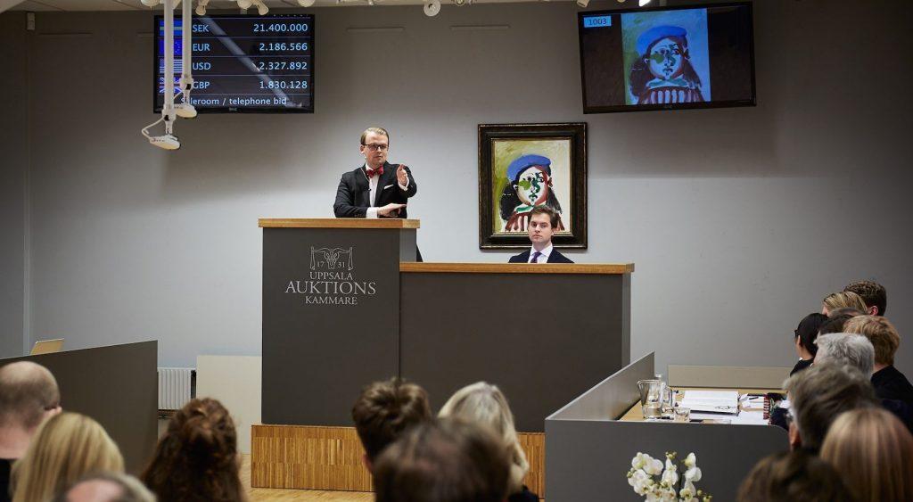 Picasso – såld för över 26 miljoner kronor
