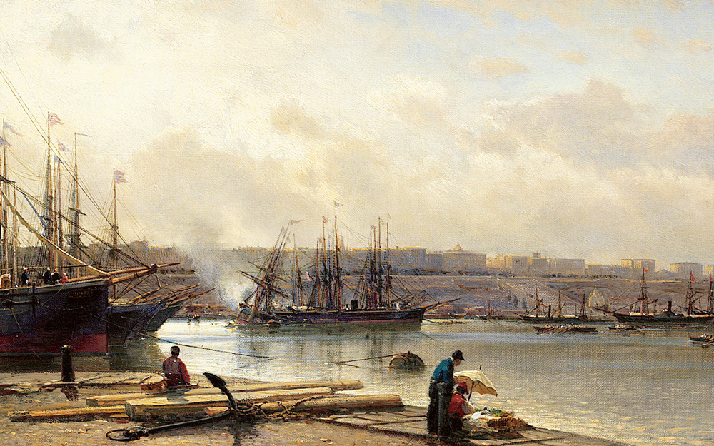 Alexei P. Bogoliubov, Odessas hamn. Såld för 5,4 miljoner kr.